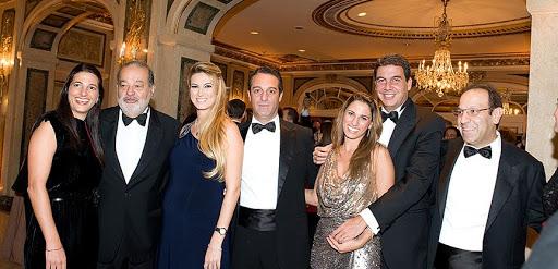 Carlos Slim family portrait