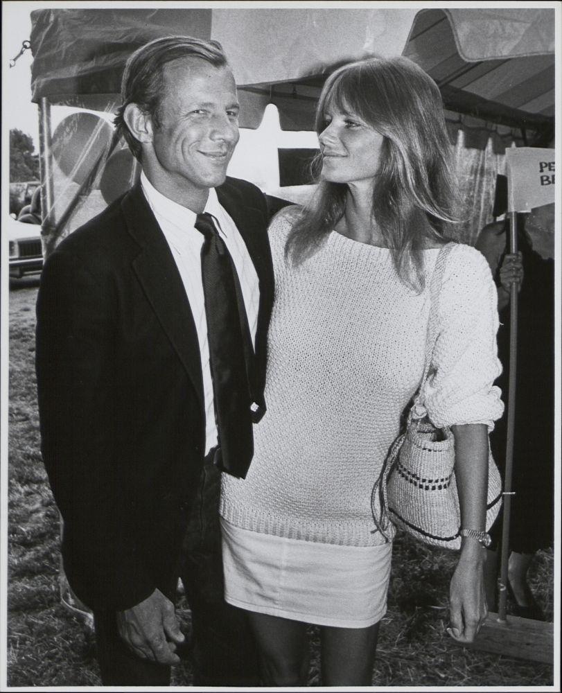 Cheryl-Tiegs with her ex-husband Peter Beard