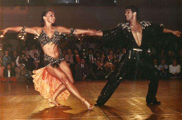 Corky Ballas with Shirley Ballas