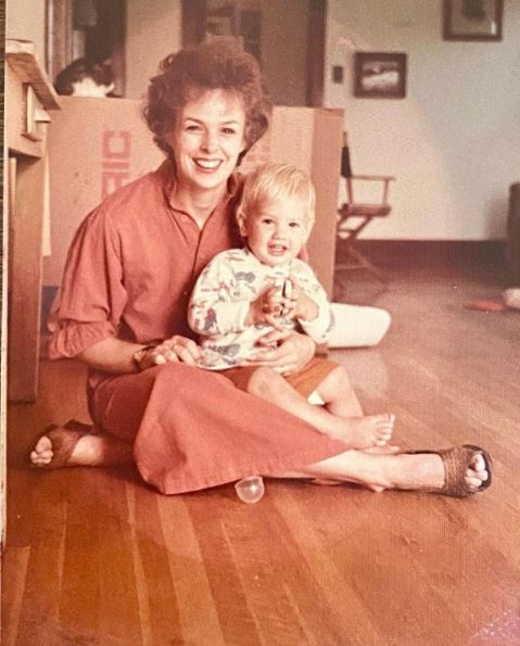 Debbie Suplee and her son Ethan