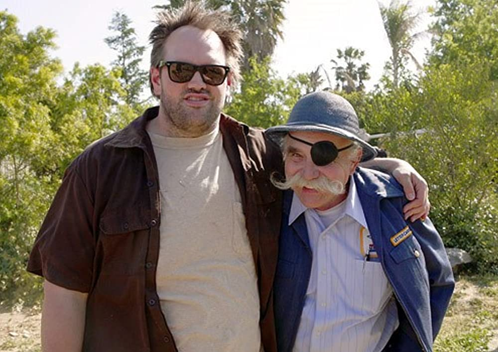 Ethan with his father Bill Suplee