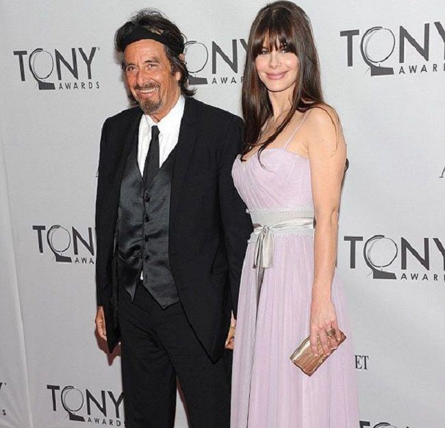 Jan Tarrant With Al Pacino