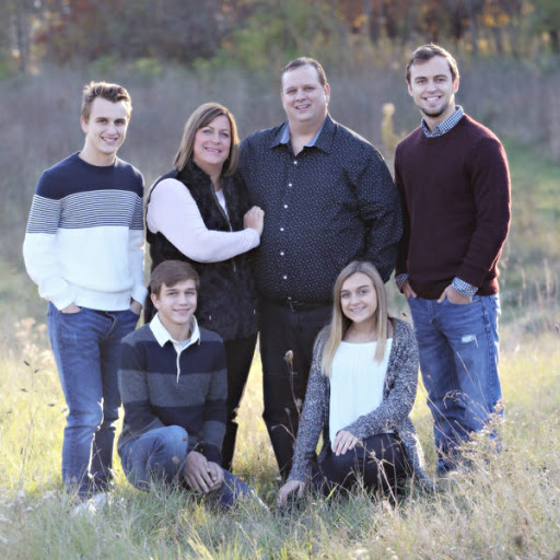 Karli Reese with her family
