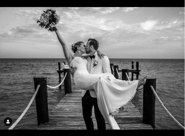 Katie and Harry Kane Wedding