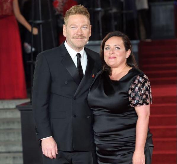 Lindsay Brunnock with her husband at Royal Albert Hall