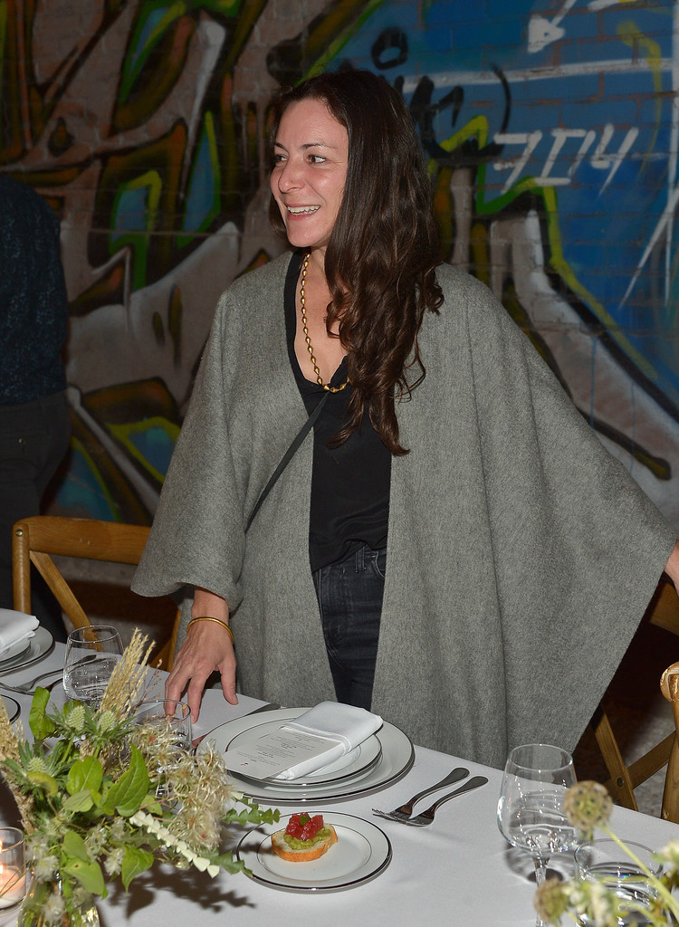 Lorca Cohen in Los Angeles Gallery inauguration private dinner