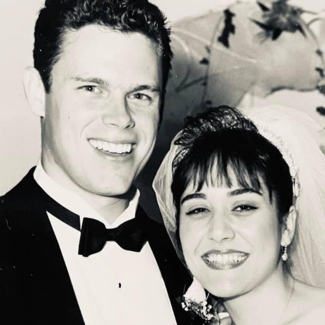 Maribel Perez Wadsworth with her husband Chris Wadsworth