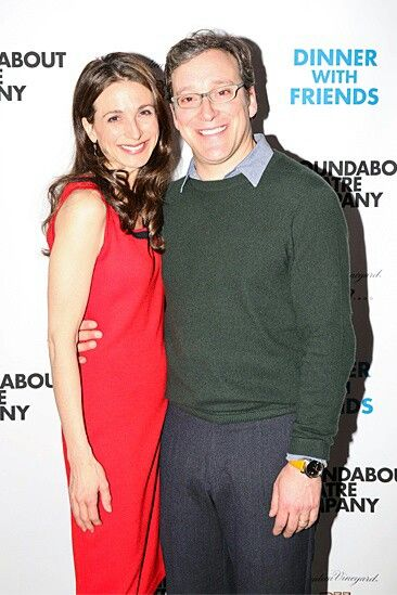Marin Hinkle and her husband