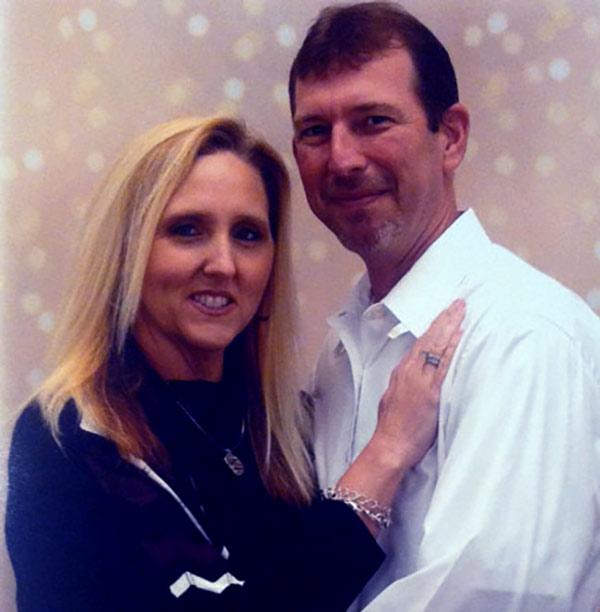 Randy Chrisley with his wife Pamela