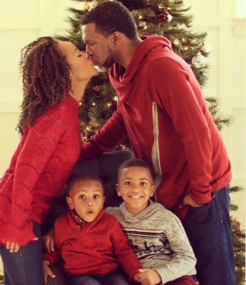 Tinashe Kajese and her family