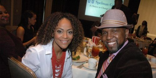 Tinashe Kajese with Keith Arthur Bolden