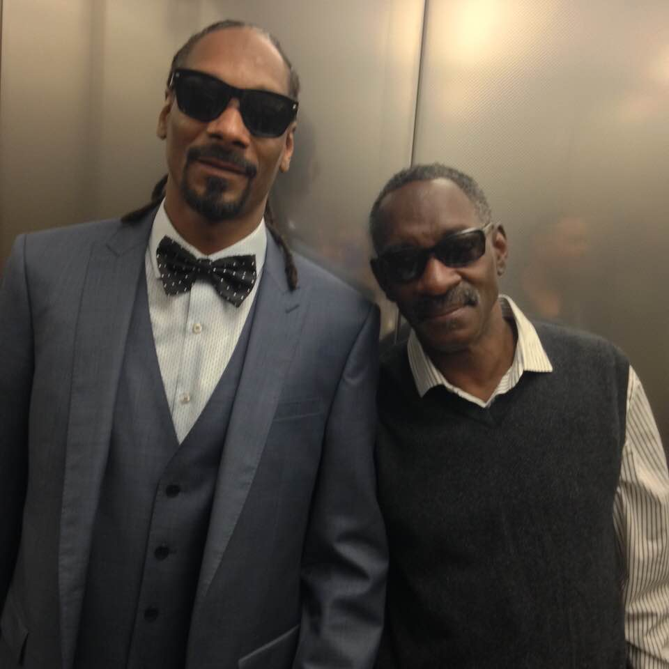 Vernell Varnado with his son Snoop Dog