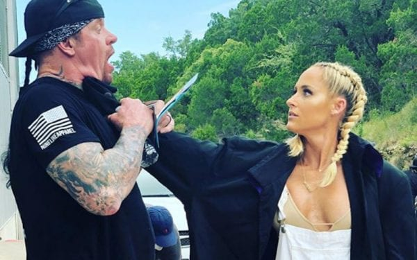undertaker with his thrid wife