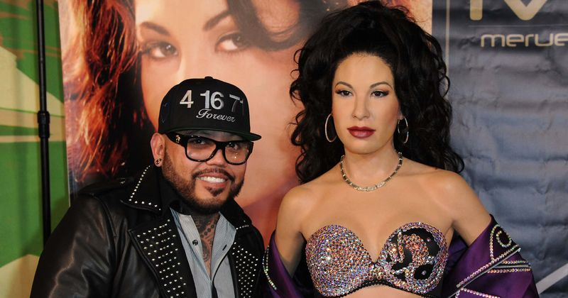 AB Quintanilla and his wife