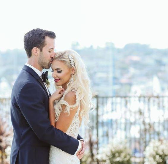 Jenn Barlow on her wedding