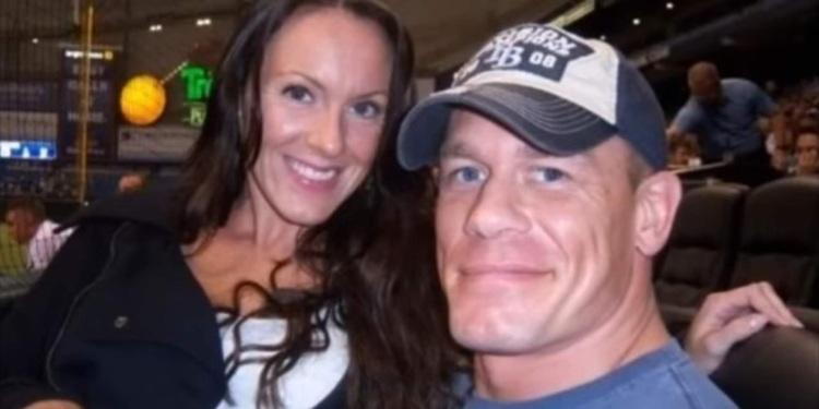 John Cena First Wife Elizabeth Huberdeau