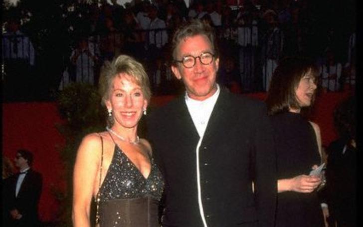 Laura Deibel with Tim Allen