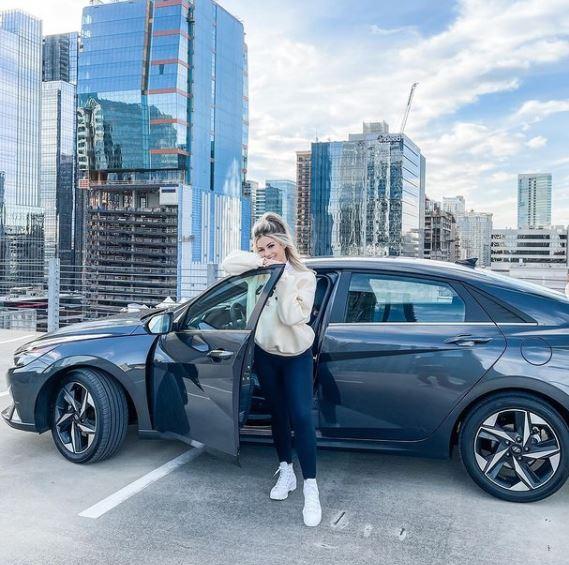LuluLuvely after her partnership with Hyundai Elantra