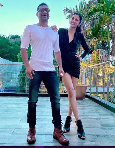 Shilpa Reddy with her husband
