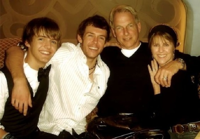 Ty Christian Harmon and his family