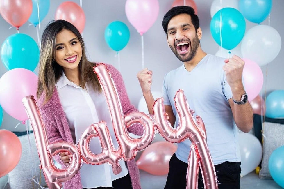 Zaid Ali sharing the pregnancy of his wife