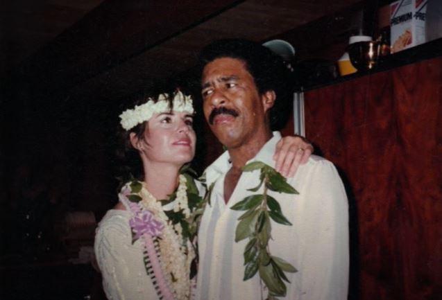 Jennifer Lee Pryor and Richard's first wedding