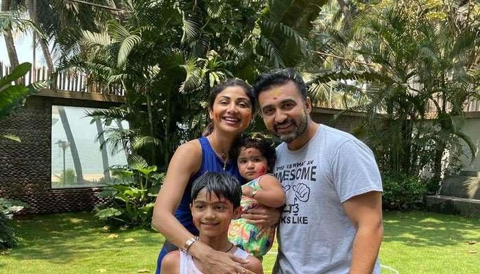 Raj Kundra Family'