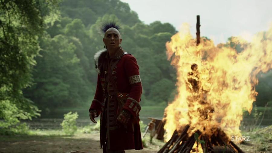 Braeden Clarke in Outlander Season 4