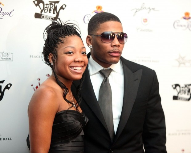 Chanelle Haynes and Nelly