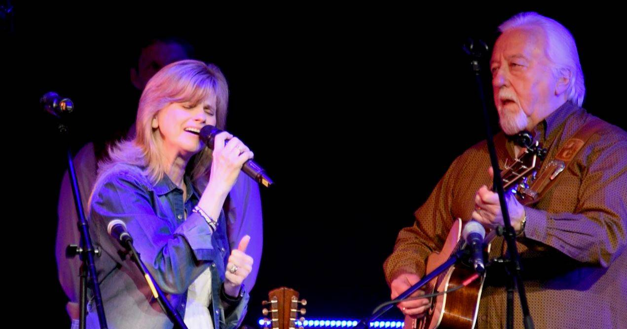 Michele Voan Capps performing with her late husband Jimmy Capps