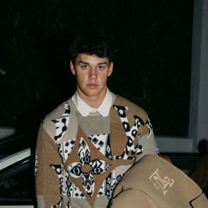 Noah Beck for Paris Fashion Week