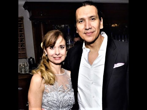Nancy Latoszewski and Michael Greyeyes